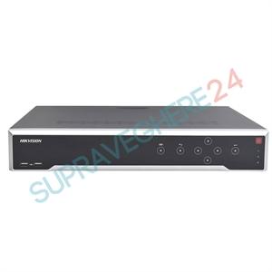 Imaginea NVR 32 canale 4K UltraHD pentru 32 camere IP, 8MP/camera, 4xHDD, ONVIF, H265, Hikvision 7732NI-K4