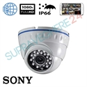Imaginea Camera IP Dome Exterior / Interior, FullHD 1080p, IR 20m, Sony Envio IP-ATX24W-2.0